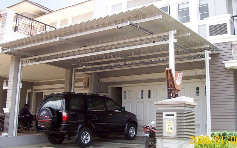 biaya membuat garasi mobil