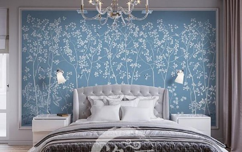 cara menghitung wallpaper dinding