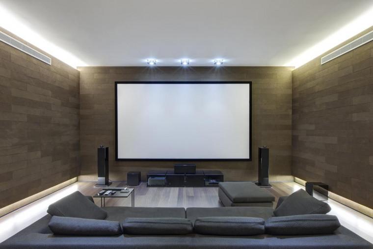 Ruang TV ala Bioskop
