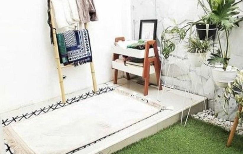 desain mushola di rumah