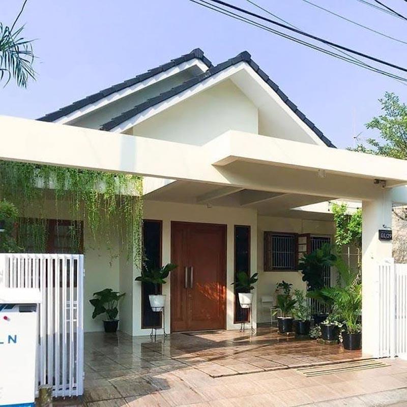 model dak teras rumah minimalis modern