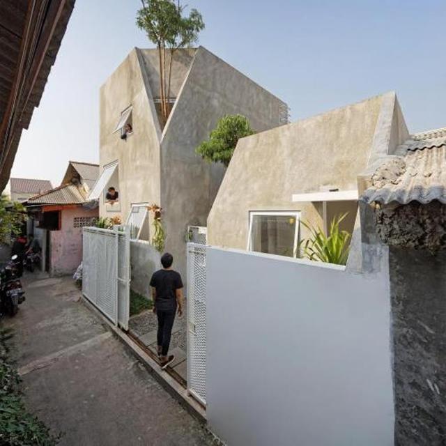 rumah minimalis tanpa atap 2