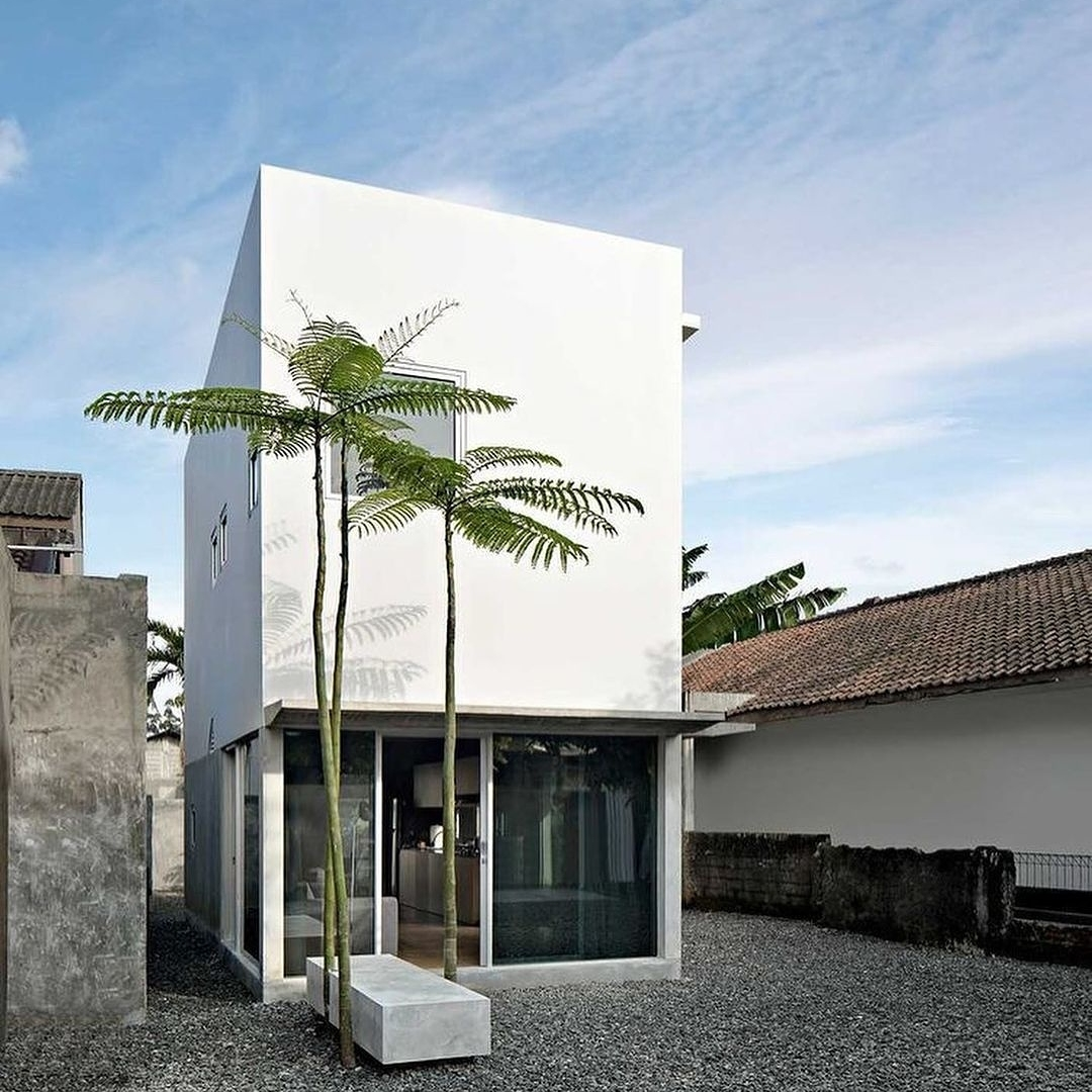 rumah minimalis tanpa atap 1