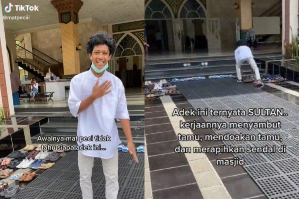 anak sultan penjaga masjid
