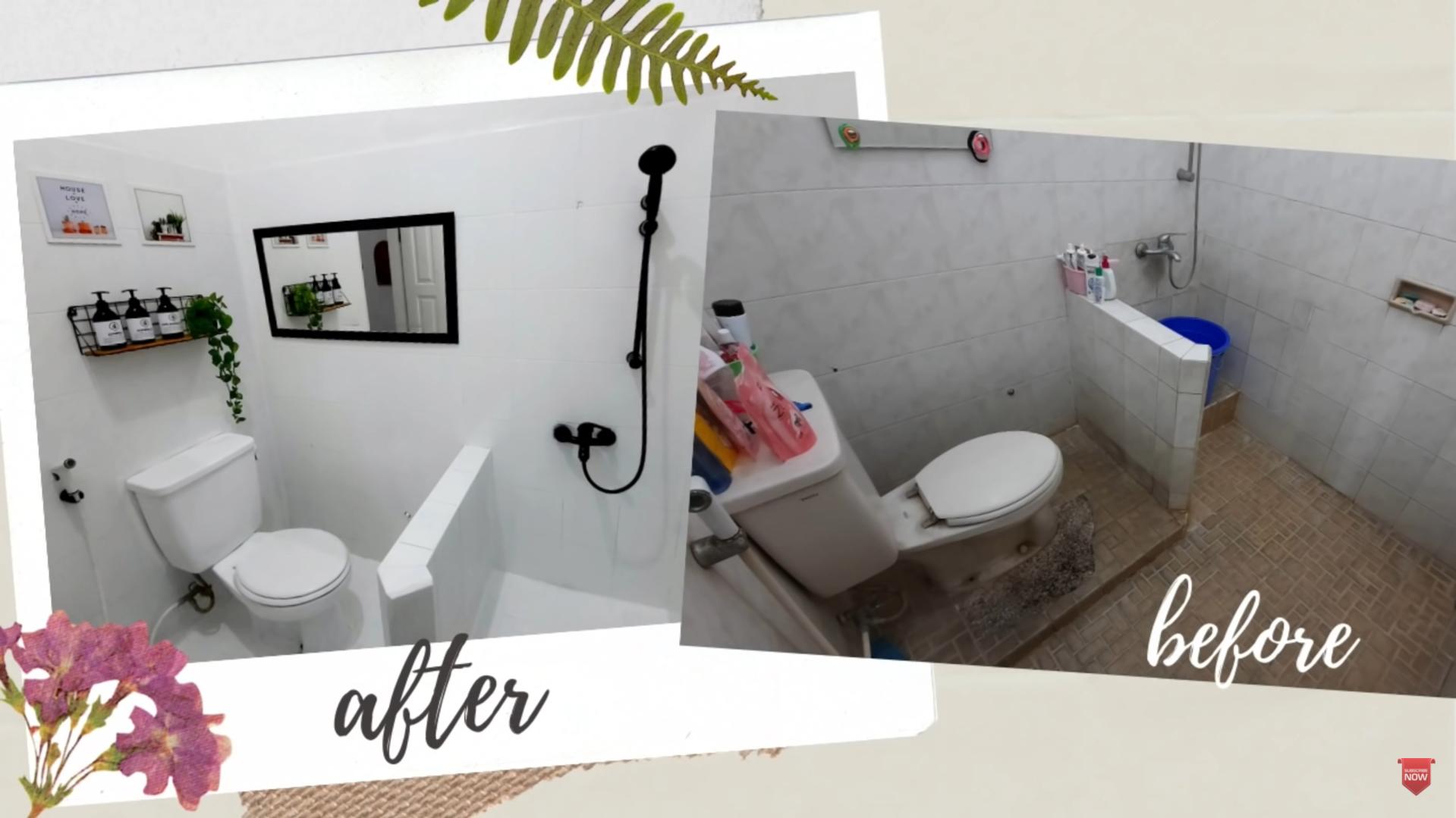 makover kamar mandi