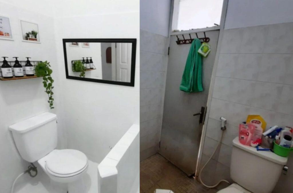 make over kamar mandi