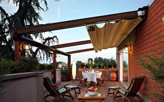Kanopi untuk Balkon minimalis