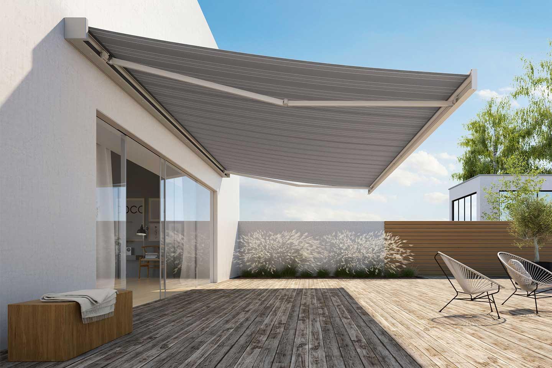 Model Kanopi Rumah Sederhana Berwarna Putih