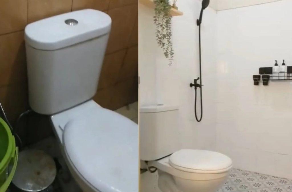 before renovasi kamar mandi minimalis