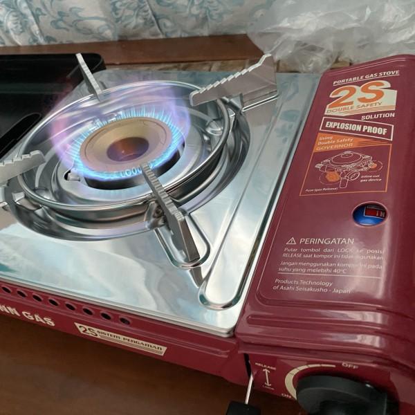 kompor Gas Portable Anti Ledak Winn Gas W2S