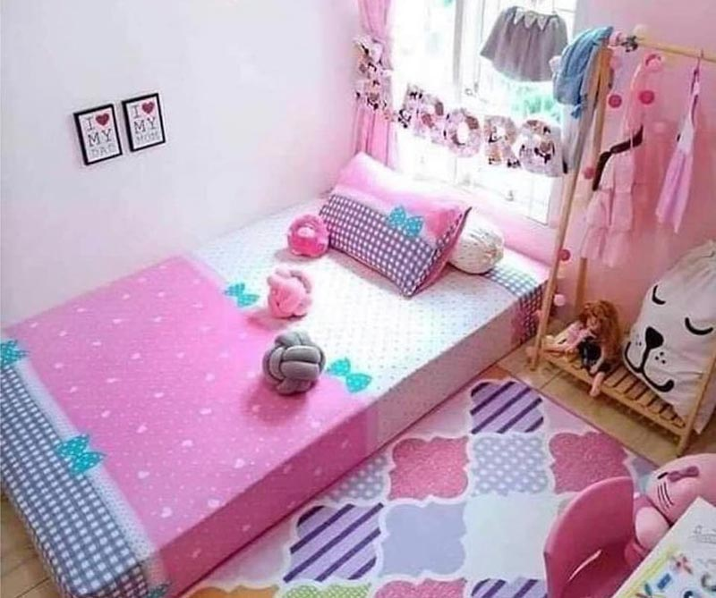dekorasi kamar tidur remaja perempuan minimalis