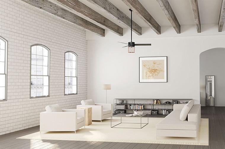Plafon Minimalis ala Rumah Industrial
