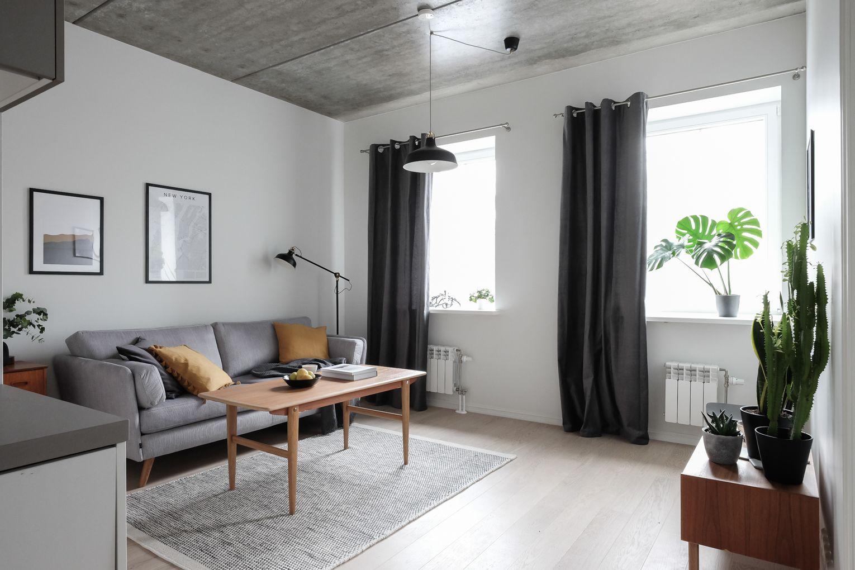 Plafon Minimalis ala Rumah Skandinavia