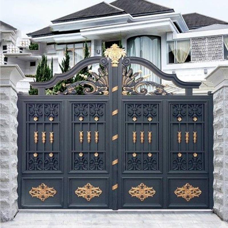 kombinasi warna cat pagar rumah
