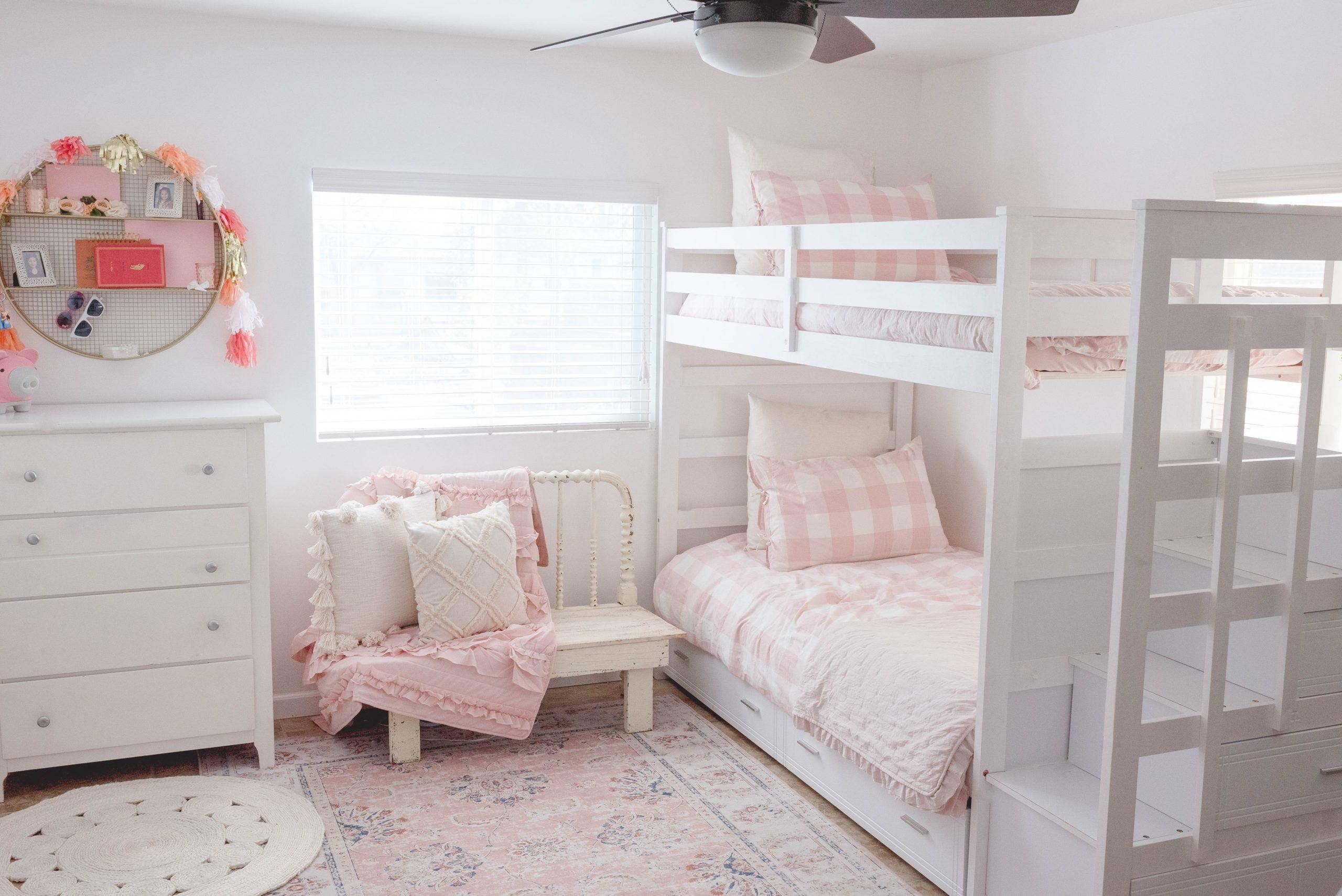 Dekorasi Kamar Tidur Anak Perempuan Nuansa Lembut