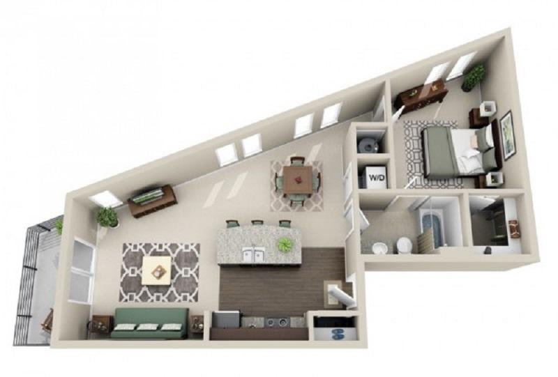 desain rumah tipe 21