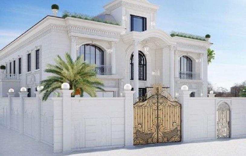 pagar rumah klasik
