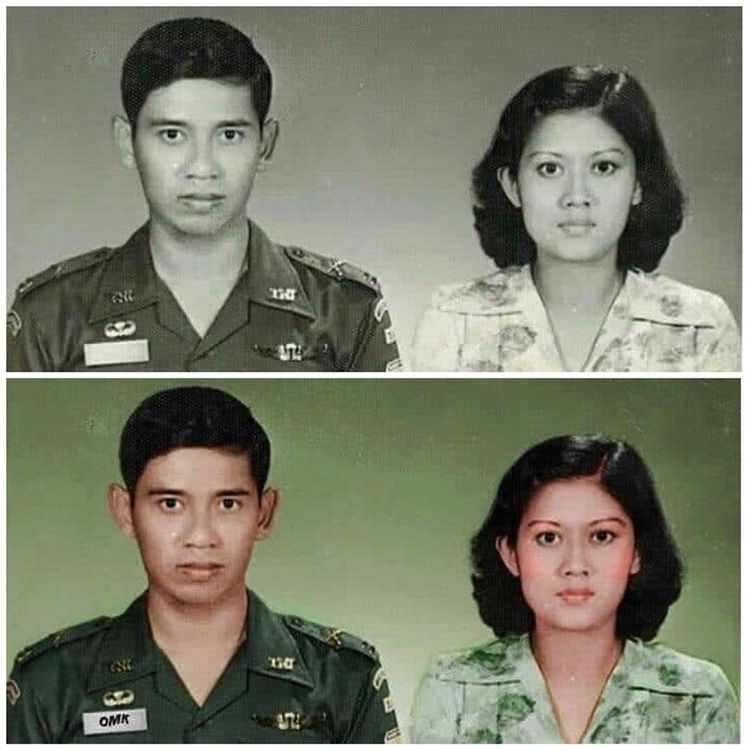 SBY dan Ani Yudhoyono 2