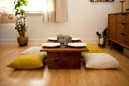 Meja makan minimalis Jepang_6