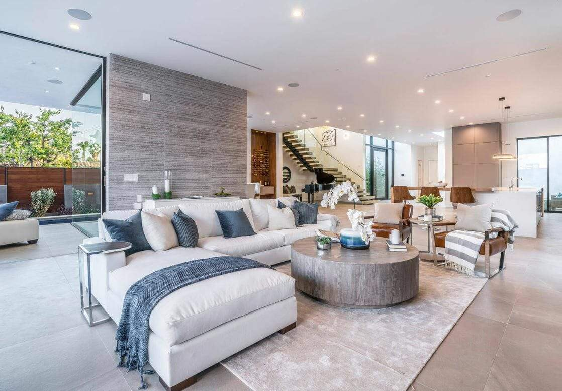 Desain Interior Kontemporer untuk Ruang Tamu