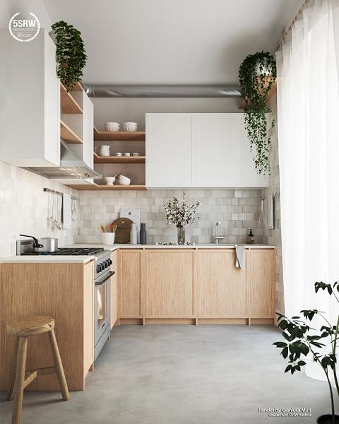 Kitchen set scandinavian 61