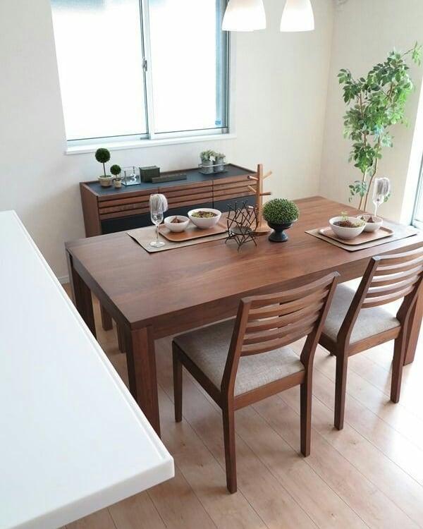 Meja makan minimalis modern 8