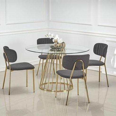 Meja makan minimalis modern 7