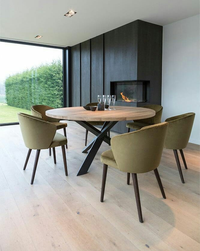 Meja makan minimalis modern 6
