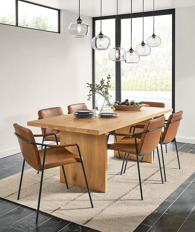 Meja makan minimalis modern 4
