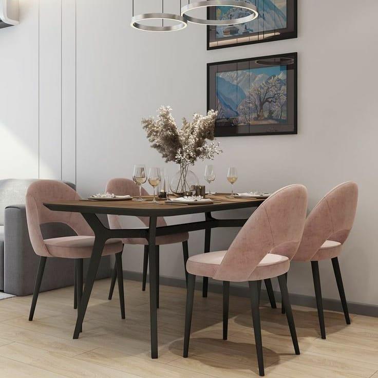 Meja makan minimalis modern 2