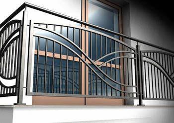 Pagar balkon minimalis 8