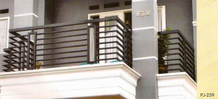 Pagar balkon minimalis 3