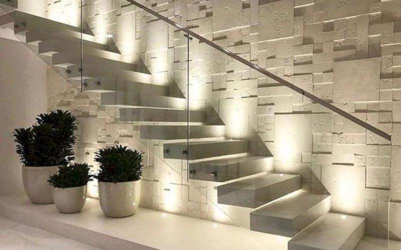 tangga rumah mewah