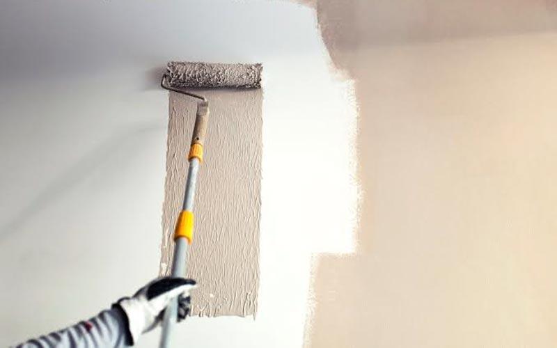 cara mengecat tembok lama