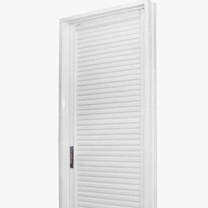 Pintu Kamar Mandi Motif Coklat Full Panel Baja Galvalum Public Door