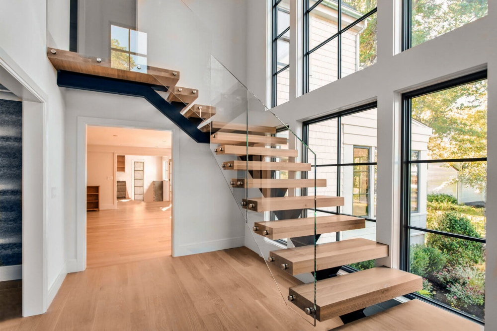 Model Tangga Rumah Minimalis 2 Lantai