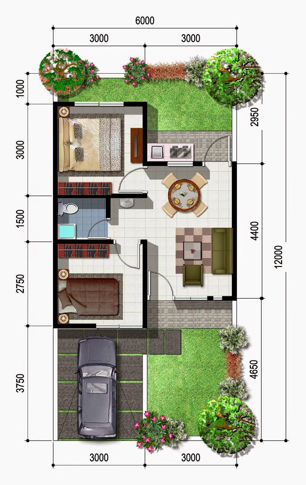 desain rumah minimalis tipe 21 5