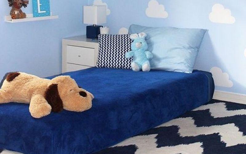 desain kamar tidur ukuran 2x3 dengan kasur lantai