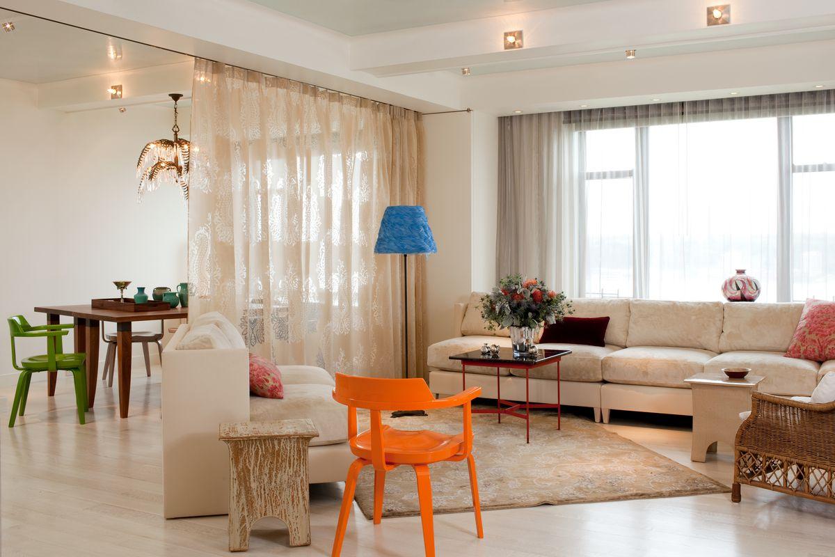Desain Sekat Dapur dan Ruang Keluarga