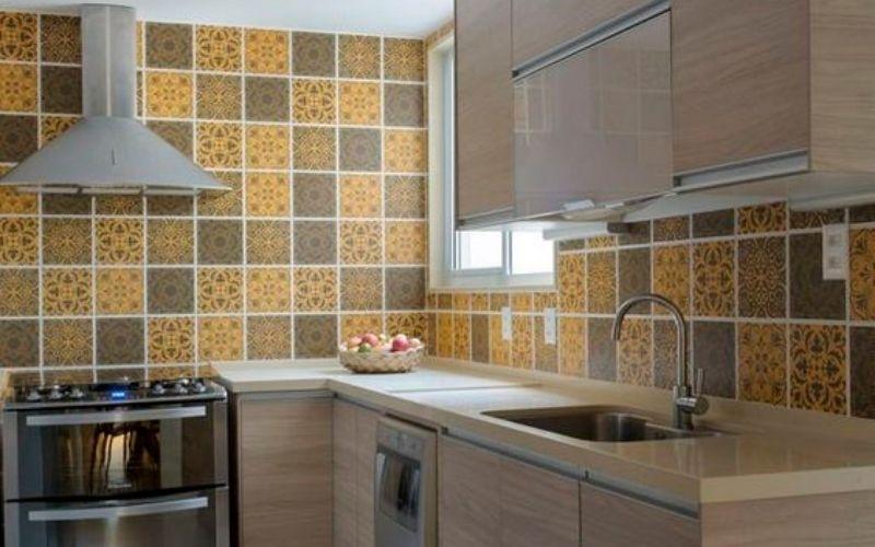 wallpaper dinding dapur anti minyak