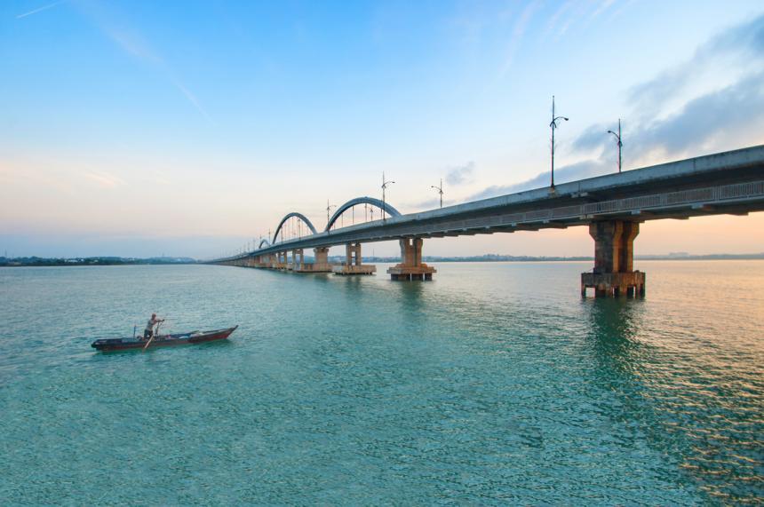 Jembatan terpanjang di Indonesia 2