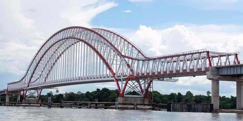 Jembatan terpanjang di Indonesia 3