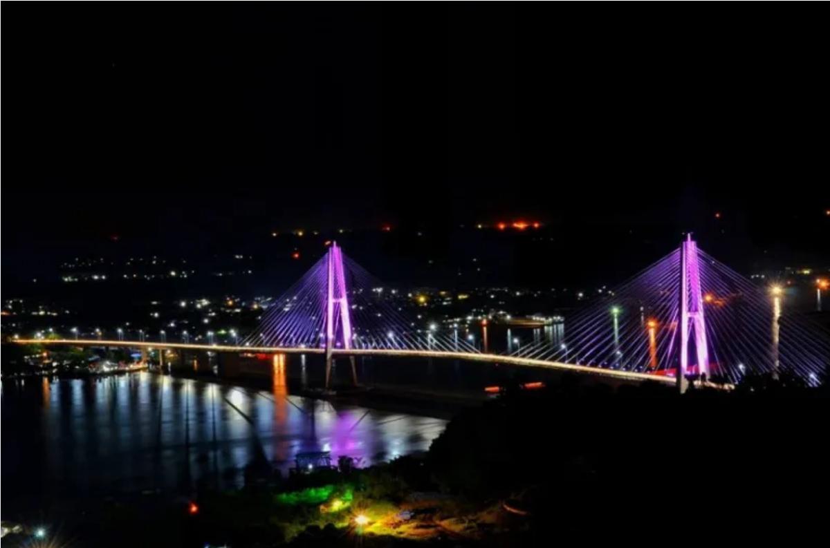 Jembatan terpanjang di Indonesia 4