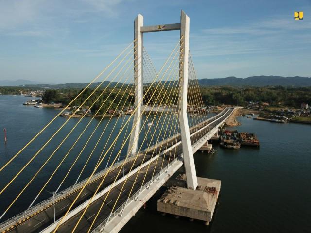 Jembatan terpanjang di Indonesia 5