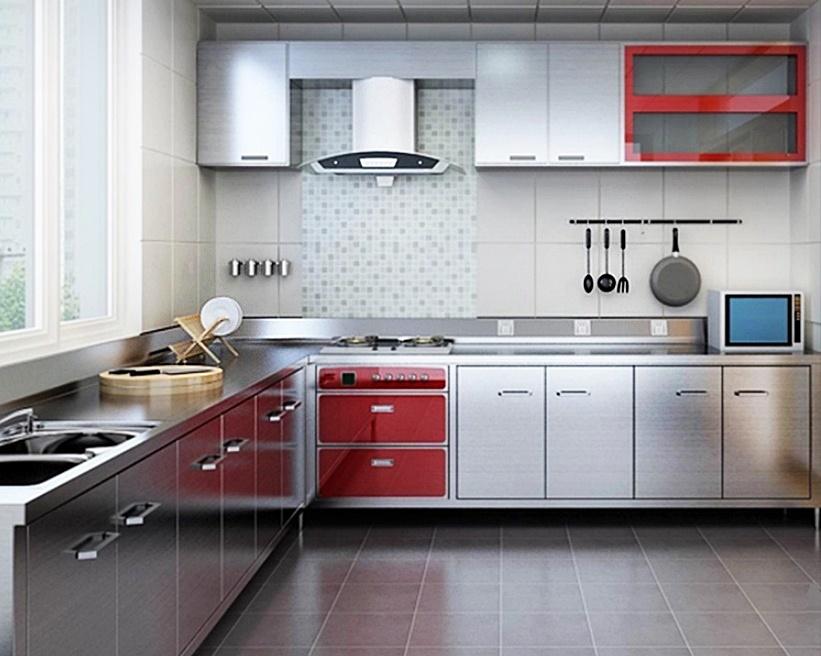 harga kitchen set per meter 3