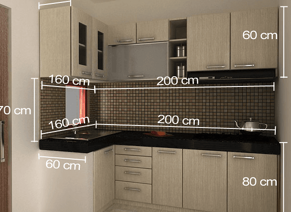 harga kitchen set per meter 2
