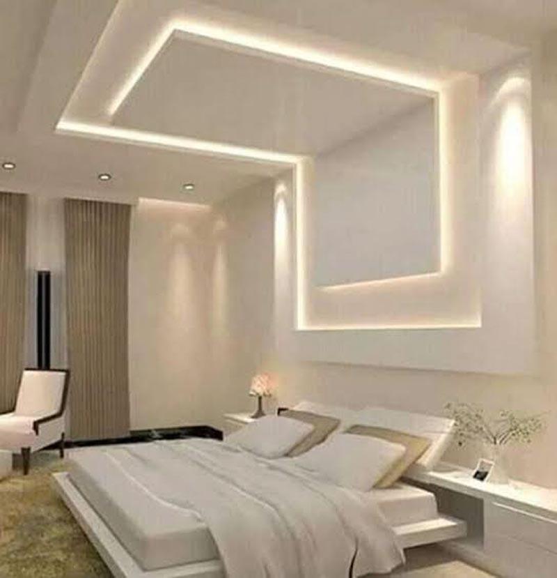 model plafon minimalis kamar tidur