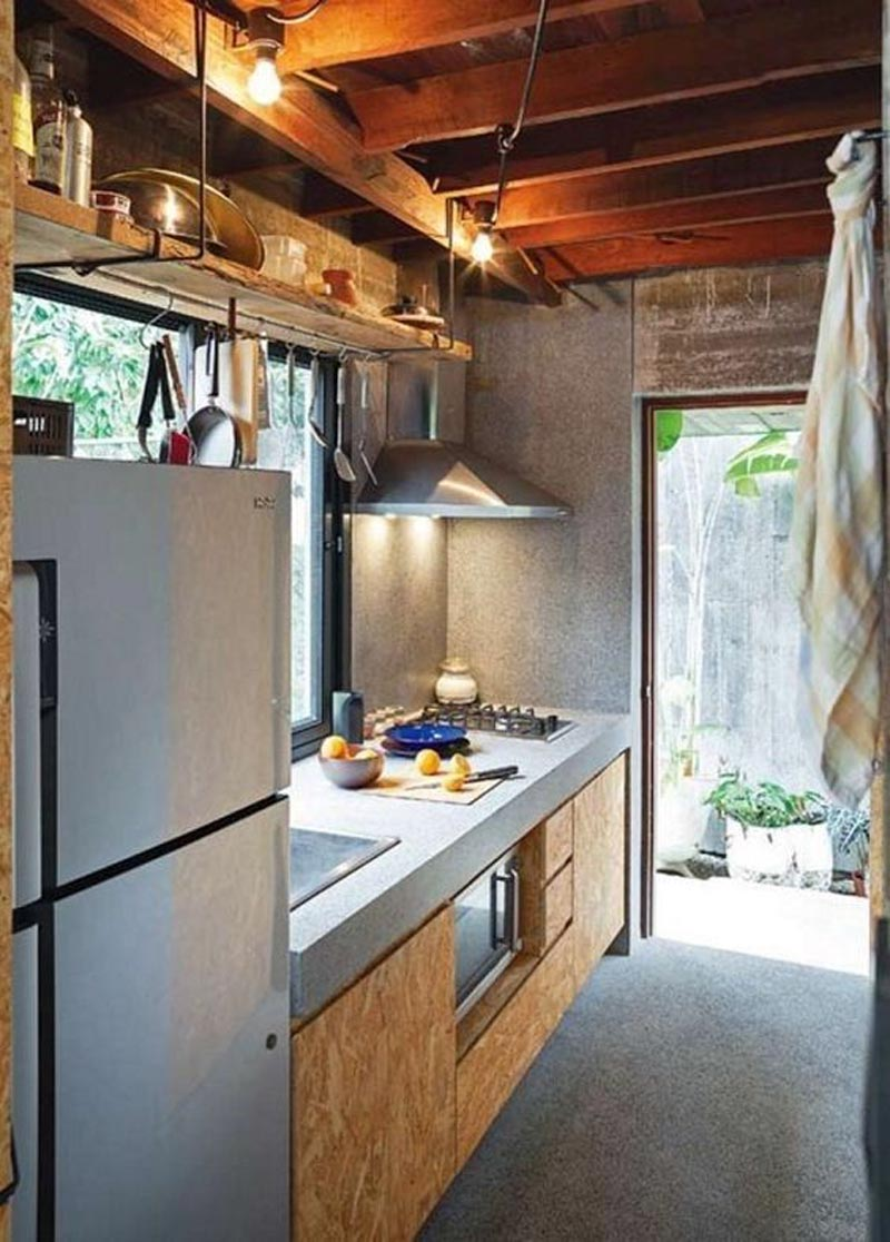 desain dapur kecil sederhana murah