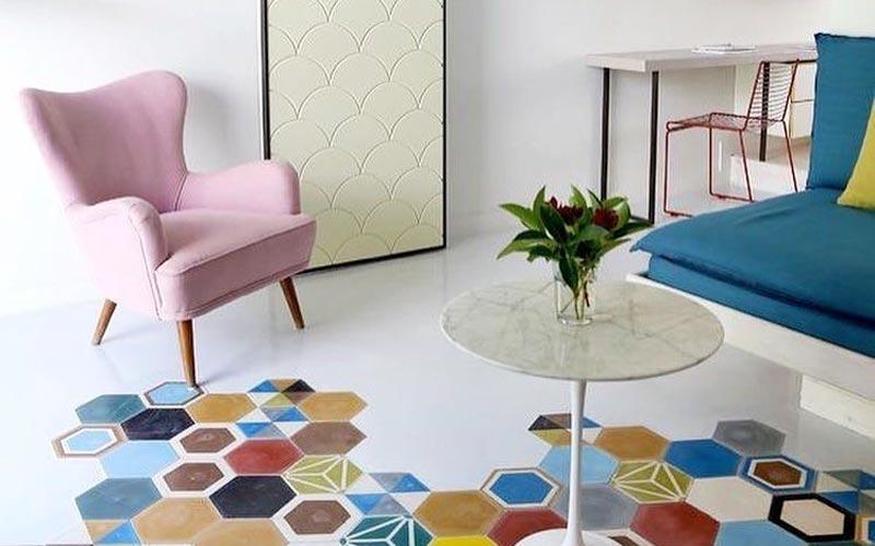 warna keramik lantai ruang tamu