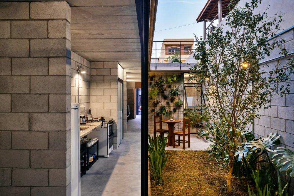 2-Desain Rumah Industrial dengan Material Batako